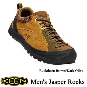 Men's JASPER ROCKS (メンズ ジャスパーロックス) -Buckthorn Brown/Dark Olive -  /  KEEN(キーン)|kt-gigaweb