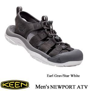 Men's NEWPORT ATV (ニューポート ATV) EarlGray/StarWhite / KEEN (キーン)|kt-gigaweb