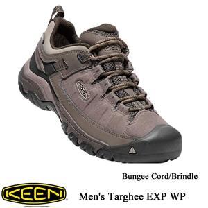 Men's Targhee EXP WP (メンズ ターギー イーエックスピー ウォータープルーフ) - Bungee Cord/Brindle /  KEEN(キーン) kt-gigaweb