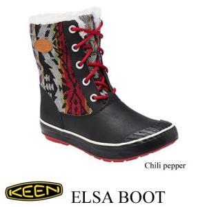 Ladies' Elsa Boot WP (エルサ ブーツ ウォータープルー) CHILI (チリペッパー)  / KEEN(キーン) kt-gigaweb