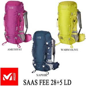 SAAS FEE 28+5 LD (サース フェー 28+5 LD)  / MILLET (ミレー)|kt-gigaweb