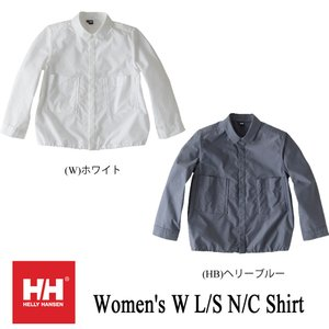 Women's W L/S N/C Shirt (ロングスリーブ N/C シャツ ) / ヘリーハンセン (HELLY HANSEN)|kt-gigaweb
