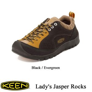 Lady's Jasper Rocks (レディース ジャスパー ロックス) Black Coffee / Indian Tan / KEEN(キーン)|kt-gigaweb