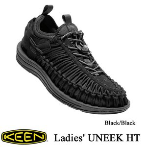Ladies' UNEEK HT (ユニーク HT | オープンエアースニーカー) Black/Black / KEEN(キーン)|kt-gigaweb