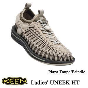 Ladies' UNEEK HT (ユニーク HT | オープンエアースニーカー) PlazaTaupe/Brindle / KEEN(キーン)|kt-gigaweb