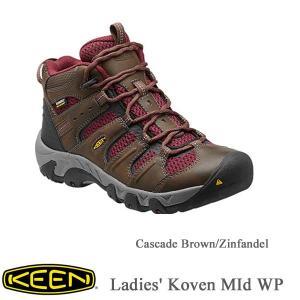 Ladies' Koven MId WP(レディース コーヴェン ミッド 防水 | ハイキングシューズ) CASCADE BROWNZINFANDEL/ KEEN(キーン)|kt-gigaweb