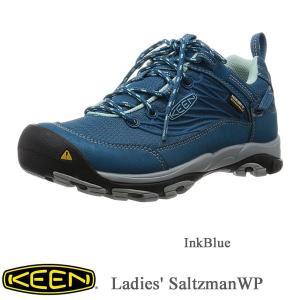 Ladies' Saltzman WP( レディースサルツマン WP   防水トレッキングシューズ) InkBlue / KEEN(キーン) kt-gigaweb