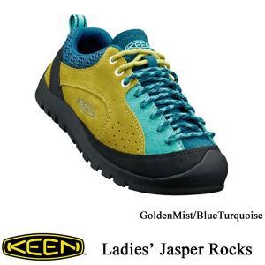 Lady's Jasper Rocks (レディース ジャスパー ロックス) GoldenMist/BlueTurquoise / KEEN(キーン)|kt-gigaweb