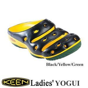 Ladies' Yogui (レディース ヨギー )Black/Yellow/Green(ブラック/イエロー/グリーン) / KEEN(キーン) kt-gigaweb