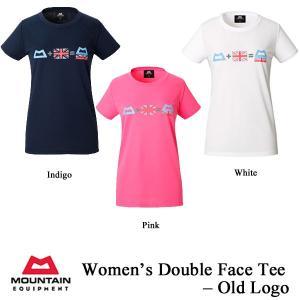 Women's Double Face Tee - Old Logo (ウィメンズ・ダブルフェイス・ティー・オールド・ロゴ) / ME (マウンテンイクイップメント)|kt-gigaweb