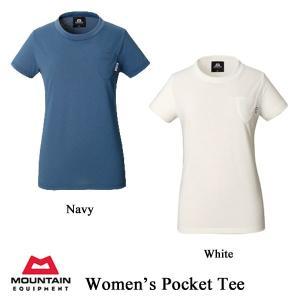 Women's Pocket Tee (ウィメンズ・ポケット・ティー) / ME (マウンテンイクイップメント)|kt-gigaweb