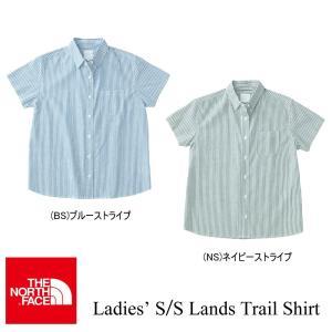 Ladies' S/S Lands Trail Shirt (レディース ランズトレイルシャツ) /THE NORTH FACE(ザ・ノースフェイス) kt-gigaweb
