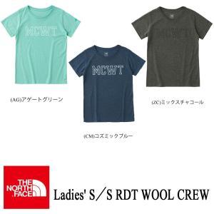 Ladies' S/S RDT WOOL CREW (レディース ショートスリーブRDTウールクルー) /THE NORTH FACE(ザ・ノースフェイス)|kt-gigaweb