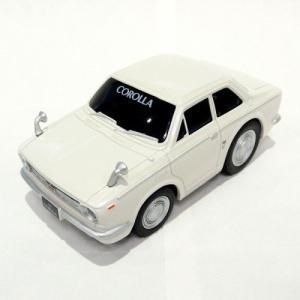 トヨタ博物館オリジナルプルバックカー / 初代カローラ(白)【sp-111021-CO00008lot】|kt-gigaweb