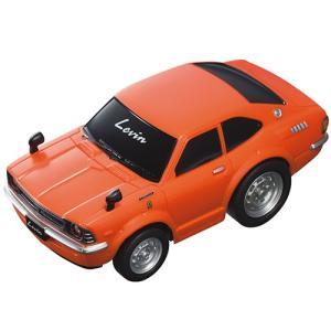 トヨタ博物館オリジナルプルバックカー カローラレビンTE27(橙) MR110R-069|kt-gigaweb