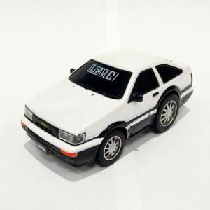 トヨタ博物館オリジナルプルバックカー カローラレビンAE86(白)MR10BW-068 |kt-gigaweb