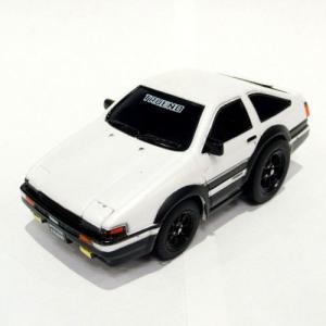 トヨタ博物館オリジナルプルバックカー トレノAE86(白)No.1050-B-028|kt-gigaweb