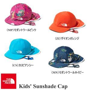 ザ・ノースフェイス 帽子 サンシェードキャップ キッズ THE NORTH FACE|kt-gigaweb