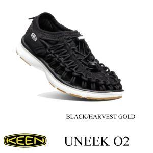 キーン キッズ シューズ ユニーク オーツー BLACK/HARVEST GOLD 20cm〜22cm KEEN|kt-gigaweb