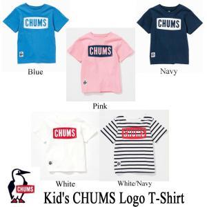 チャムス トップス チャムスロゴTシャツ キッズ CHUMS|kt-gigaweb