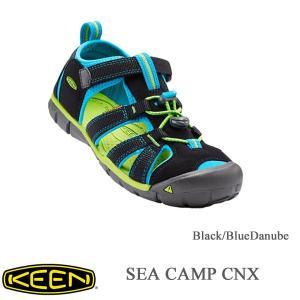 キーン キッズサンダル シーキャンプ CNX Black/BlueDanube 20cm〜 KEEN|kt-gigaweb