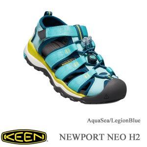 キーン キッズサンダル ニューポート ネオ H2 AquaSea/LegionBlue 20cm〜 KEEN|kt-gigaweb