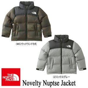 Novelty Nuptse Jacket (ノベルティーヌプシジャケット キッズ) 110-150 NDJ91734 / THE NORTH FACE (ザ・ノースフェイス)|kt-gigaweb