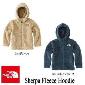 Sherpa Fleece Hoodie(シェルパフリースフーディー キッズ) 110-150  NAJ71611  / THE NORTH FACE(ザ・ノースフェイス)|kt-gigaweb
