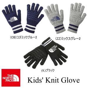 Kids' Knit Glove (キッズ ニットグローブ)  NNJ61707 / THE NORTH FACE(ザ・ノースフェイス) kt-gigaweb