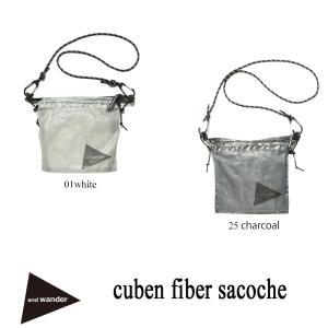 キューベン・ファイバーを使用したサコッシュです。ダイニーマ繊維をUV樹脂でラミネートした極薄のフィル...