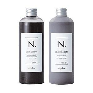 【2本セット】ナプラ N.エヌドット Si シルバー カラーシャンプー 300g/トリートメント 3...