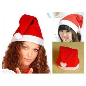 サンタ 帽子 サンタクロースグッズ サンタハット シンプル帽子 クリスマス x'mass a021