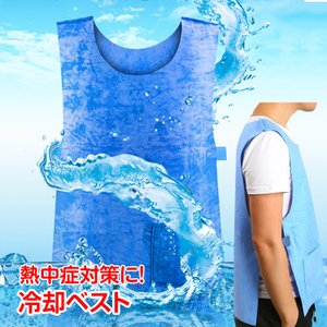 ■熱中症防止におすすめな冷却ベストです ■水で濡らすとひんやりと冷やしてくれます ■洗濯できるので繰...