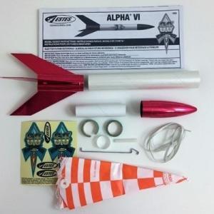 AlphaIII(VI, 60周年記念、エステス#1958)ロケットキット上級仕上げ,税・送料込|ktek-shop