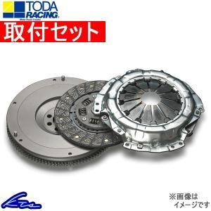 クラッチ 取付セット TODA RACING 超軽量クロモリフライホイール&クラッチKIT メタルディスク ランサー CZ4A 4B11/EVO X 戸田レーシング クラッチ|ktspartsshop