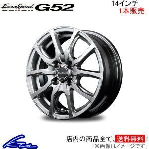 マナレイ ユーロスピード G52 1本販売 ホイール ラパン/ショコラ【14×4.5J 4-100 ...