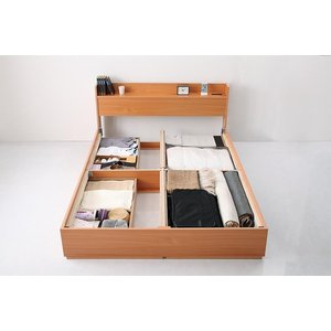 ベッド ベット シングルベッド シングルサイズ 収納ベッド マットレス付き 北欧 おしゃれ|kubric|05