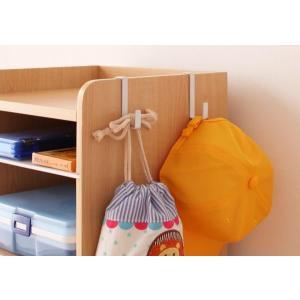 こども部屋 収納 収納ラック ランドセル置き 本棚 キッズ家具 子供部屋 木製 おしゃれ|kubric|02