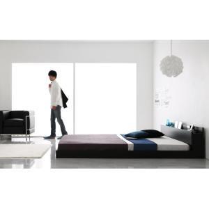ベッド ベット シングルベッド シングルサイズ ローベッド フレームのみ ブラック おしゃれ kubric 02
