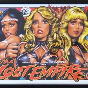 「THE LOST EMPIRE」ロッキンジェリービーン  限定シルクスクリーンポスター|kucyubooks