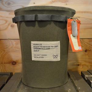 ミリタリー オリーブカラー ゴミ箱|kucyubooks