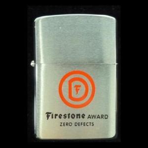 ヴィンテージ ZIPPO 1969 Firestone  未使用品|kucyubooks