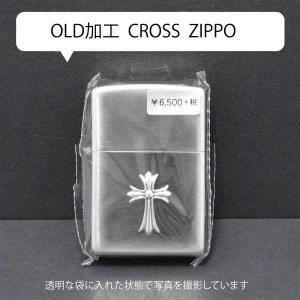 オールド加工 クロスジッポ ZIPPO|kucyubooks