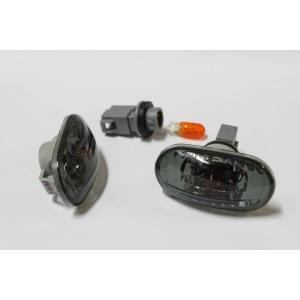 kudo-j サイドマーカー【スモーク】【1〜5型用】+専用LED球セット|kudo-jcom