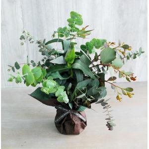 そのまま飾れるユーカリブーケ | グリーンギフト グリーンインテリア 癒し アロマ 部屋の彩り 爽やか ナチュラル|kugelfg