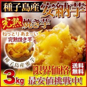 安納芋 焼き芋 3kg(安納芋いも 焼き芋)冷凍やきいも 元...