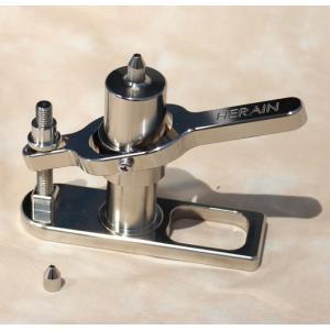 アルミ製ポンプとウドン絞り器セット|kujirafc