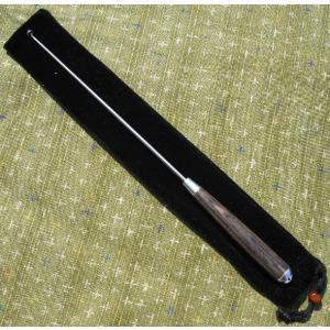 銘木握り仕様針外し 23cm kujirafc