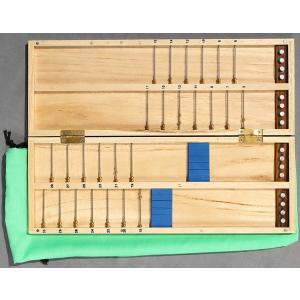1cm単位で!幅広チチワ式白桐薄型ハリス箱30cm|kujirafc