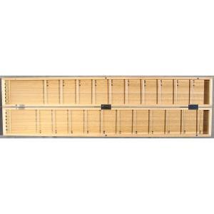 2cm単位で!チチワ式白桐薄型ハリス箱61cm|kujirafc